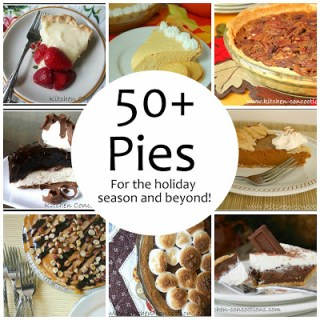 50+ Pie Recipes for the Holiday Season and Beyond!