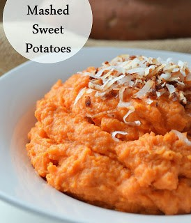 Coconut Mashed Sweet Potatoes