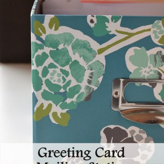 Crafty Concoctions: Greeting Card Mailing Station and Birthday and Anniversary Calendar Printable