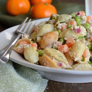 Tuna Pasta Salad with Lemon and Dill
