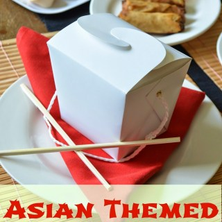 Date Night: Asian Themed Dinner Date at Home