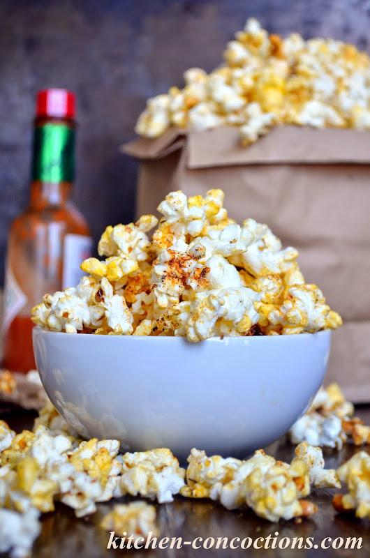 Spicy Cajun Popcorn