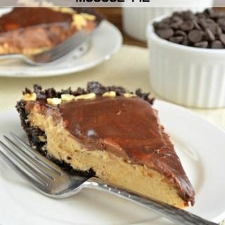 Chocolate Peanut Butter Mousse Pie