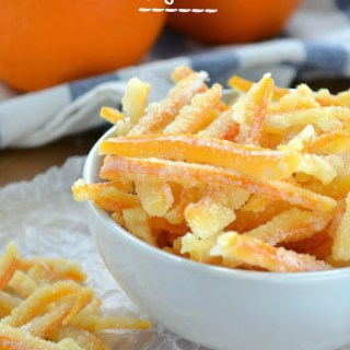 How To Make Candied Orange Peel