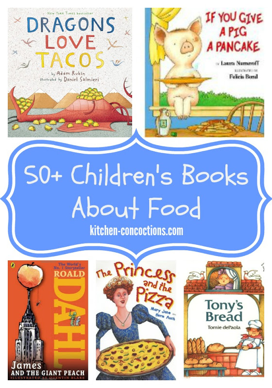 50 Childrens Books About Food Kids In The Kitchen