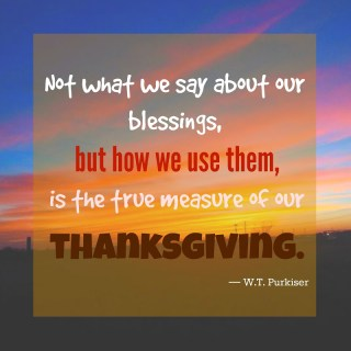 Dishin' It Up! – 5 Quotes About Gratitude and Thanksgiving