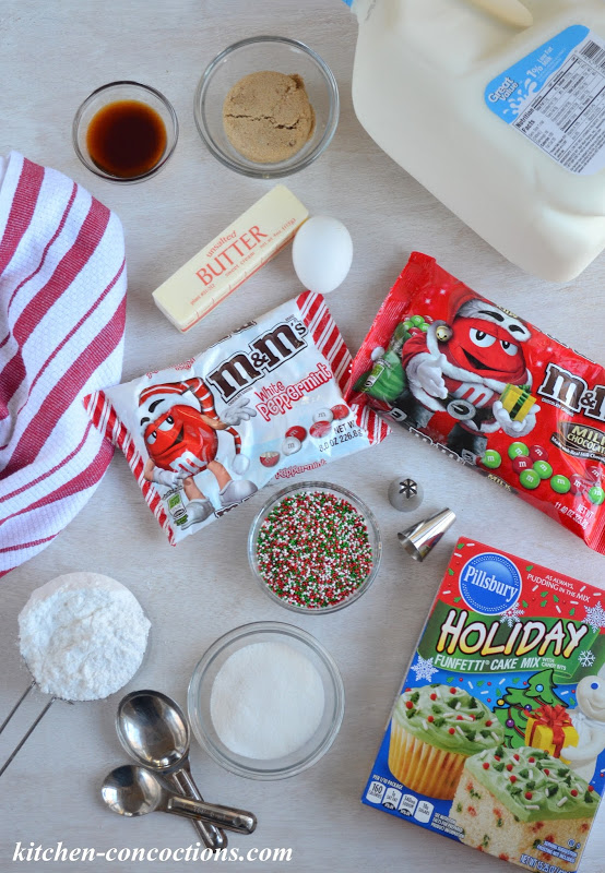 Holiday Funfetti® M&M's® Cookie Cake