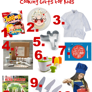 Holiday Gift Guide: Cooking Gifts for Kids