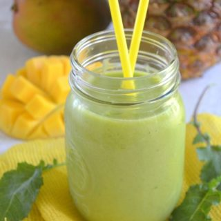 Tropical Green Energy Smoothie