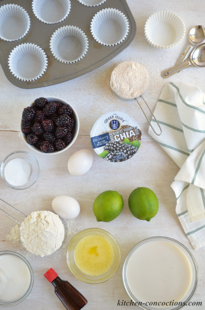 Blackberry Lime Chia Seed Muffins recipe kitchen concoctions 3