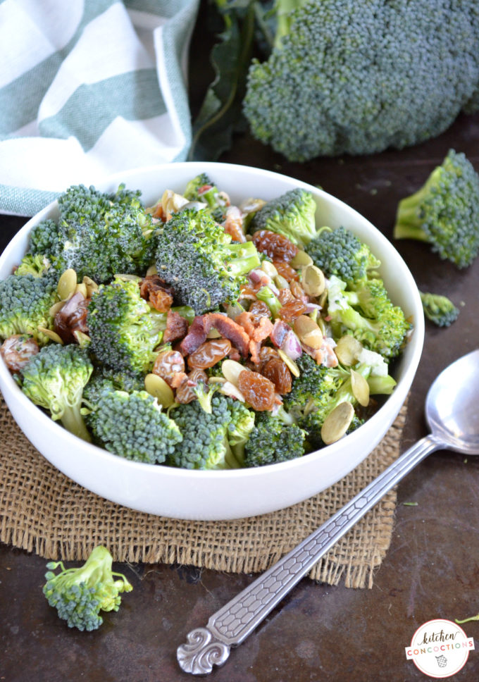 Fresh Broccoli Salad Recipe 2