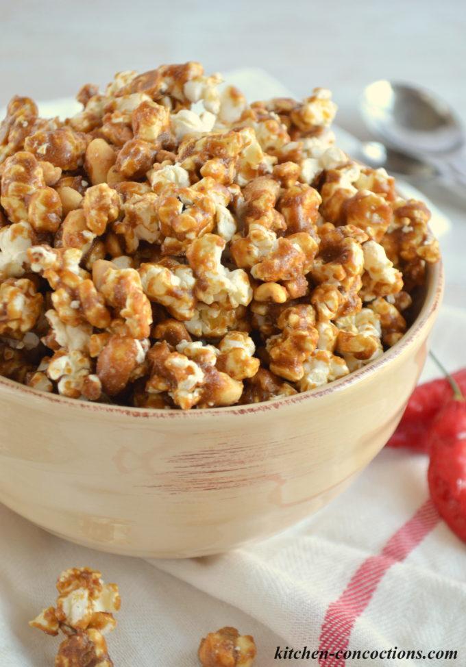 Sweet Heat Caramel Corn