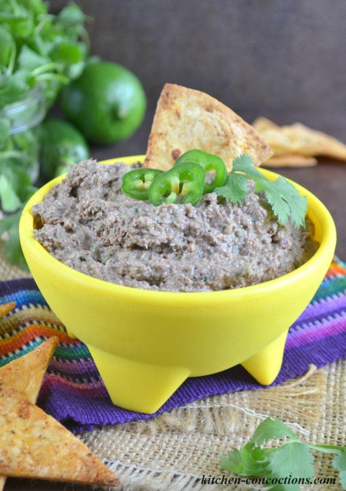 Black Bean Hummus 3.1