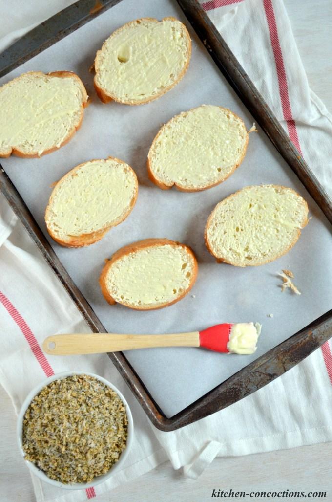 homemade garlic bread seasoning