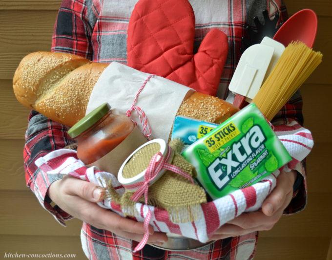 pasta dinner gift basket 1