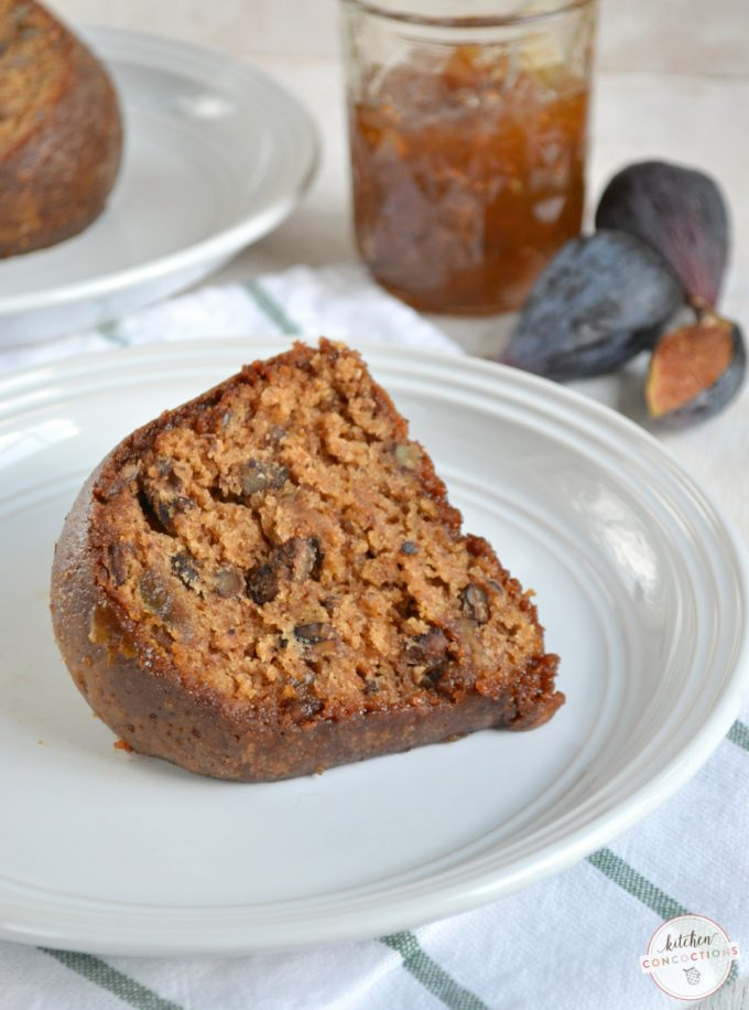Spiced Fig Preserve Cake