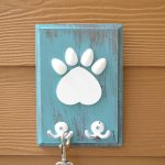 DIY Dog Leash Hanger