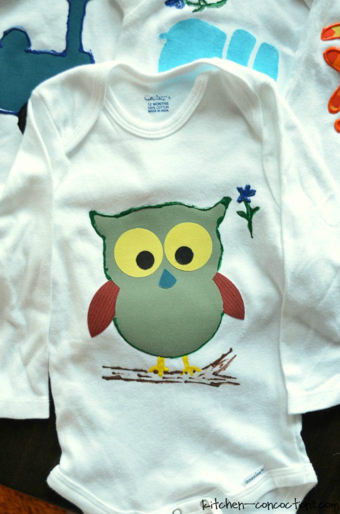 Baby Shower Idea - Onesie Decorating 2.2 & Baby Shower Idea: Onesie Decorating - Kitchen Concoctions