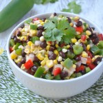Colorful Black Bean Salad