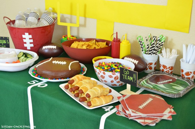 Football Party Ideas Including DIY Football Cake Tailgating Games and Décor & Football Party Ideas Including DIY Football Cake Tailgating Games ...