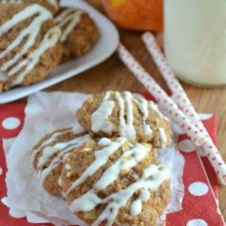 Toffee Apple Pie Cookies