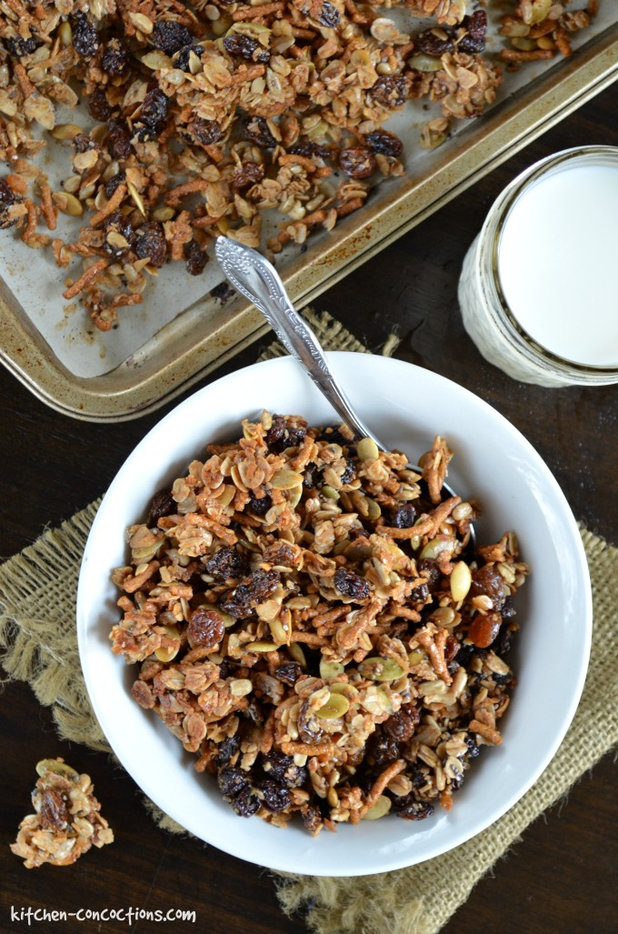 Seed and Raisin Granola