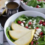 Pear and Pomegranate Salad