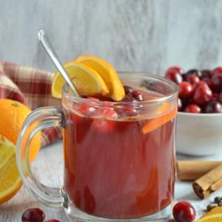 Hot Cranberry Orange Drink