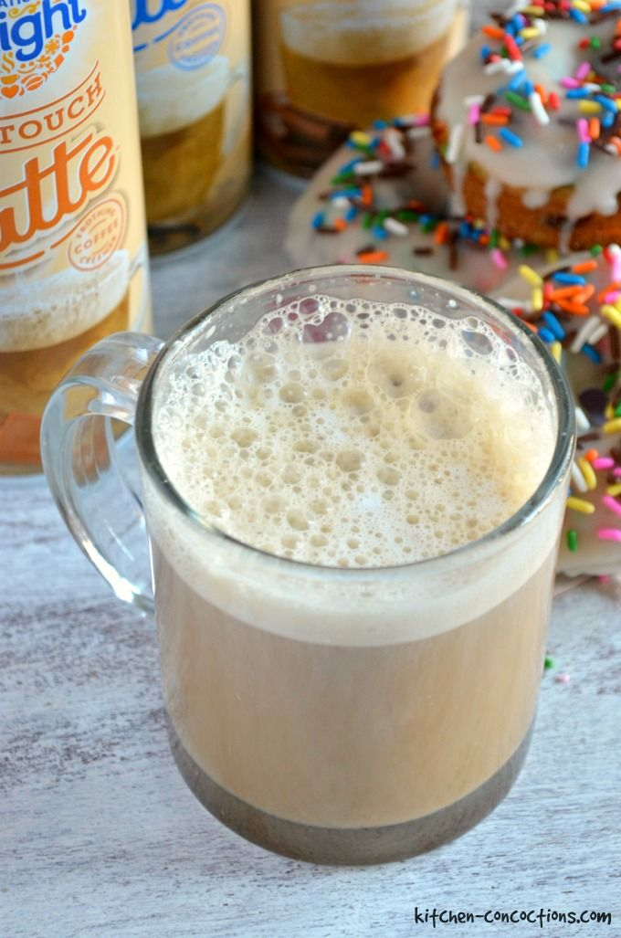 Easy Three Step Latte At Home