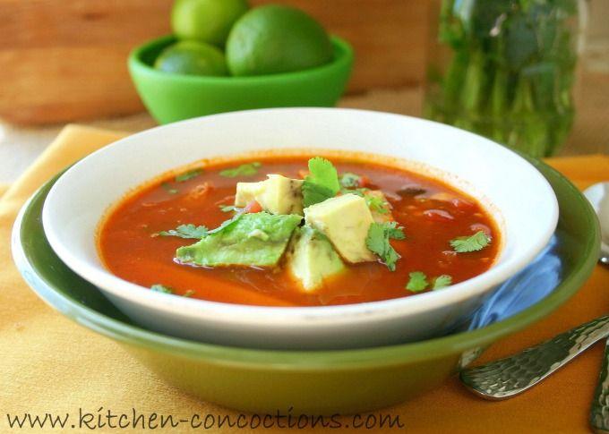 Smoked Turkey Enchilada Soup