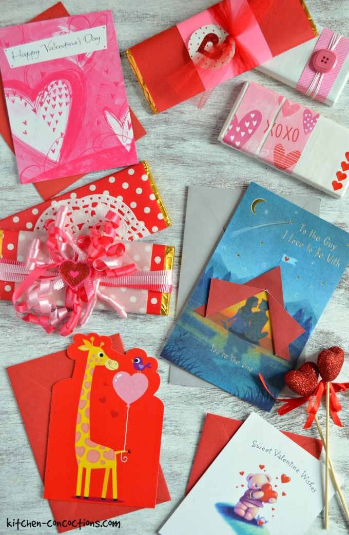 DIY Valentines Candy Bar Wrappers Kitchen Concoctions
