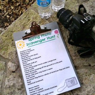 Spring Photo Scavenger Hunt