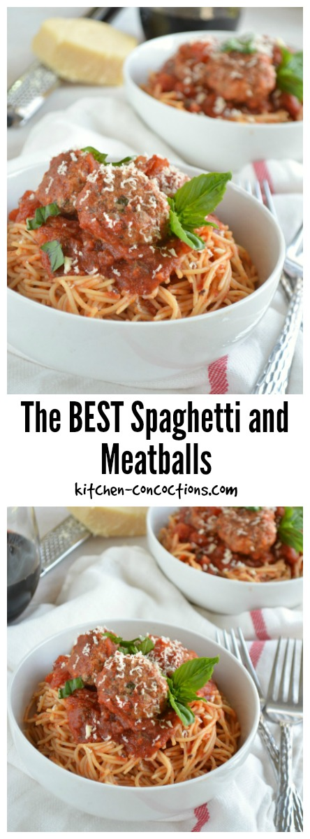 Spaghetti and Meatballs Recipe