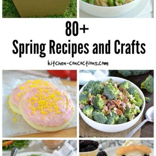 80+ Spring Recipes and Crafts