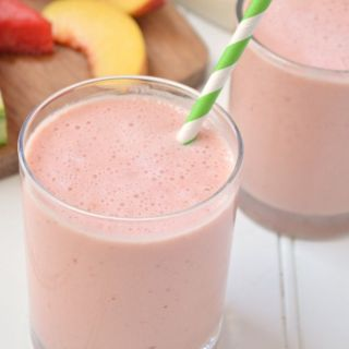 Peach Watermelon Smoothie