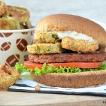 Crispy Jalapeno Ranch Black Bean Burgers