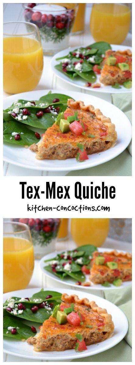 Tex-Mex Quiche Recipe