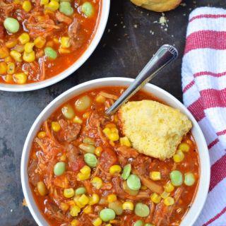 Brisket and Chicken Brunswick Stew