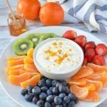 Honey Orange Fruit Dip