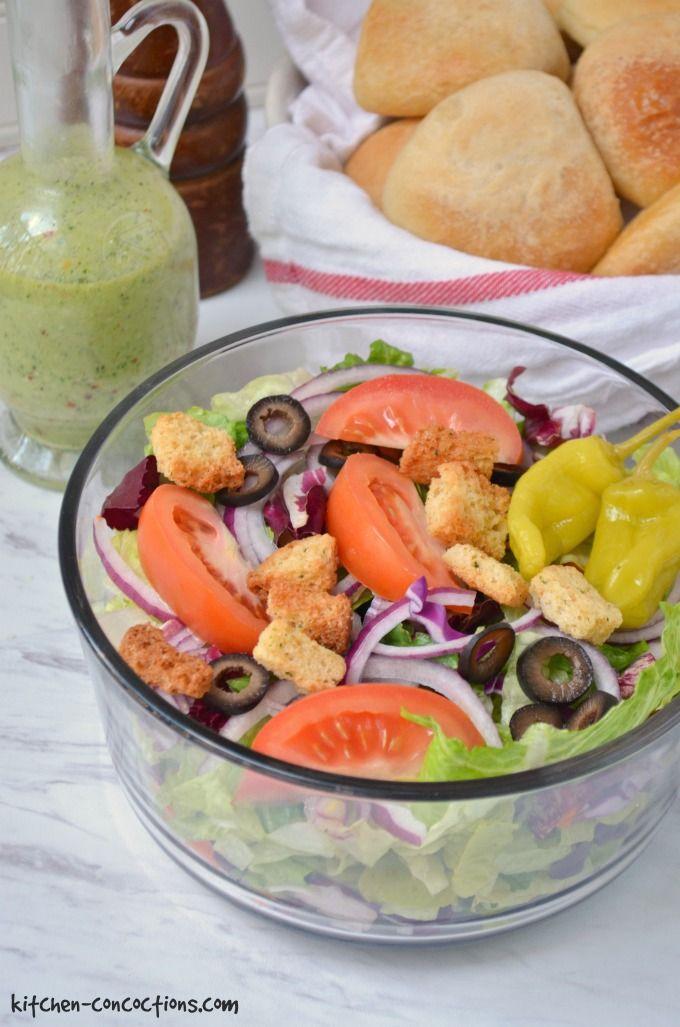 copycat olive garden salad recipe kitchen concoctions - Garden Salad Recipe