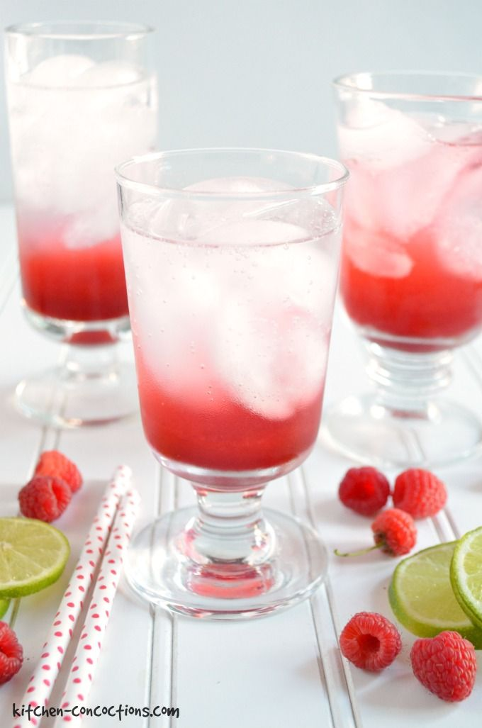Raspberry Lime Italian Soda Recipe image