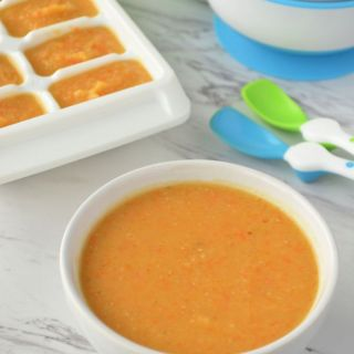 Homemade Baby Food: Butternut Squash and Red Lentil Soup