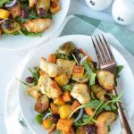 Winter Panzanella Salad