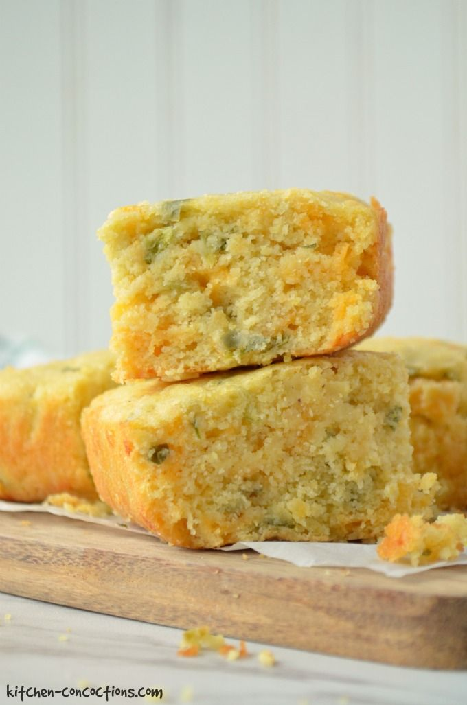 This easy, made from scratch Jalapeno Cheddar Cornbread recipe, is a flavorful side dish for a number of dinner ideas including chili, brisket, soup and stew!