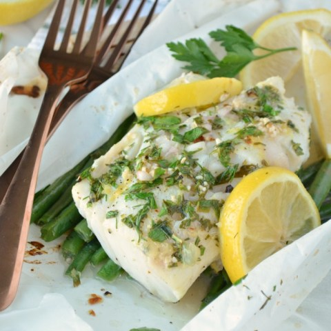 Lemon Herb Fish en Papillote