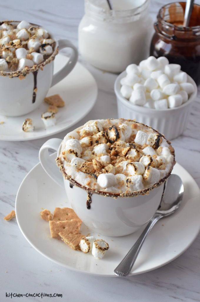 S'mores Latte Recipe