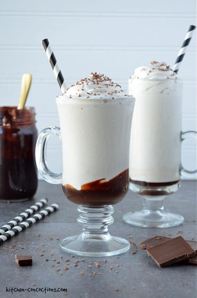Coffee Bourbon Milkshake