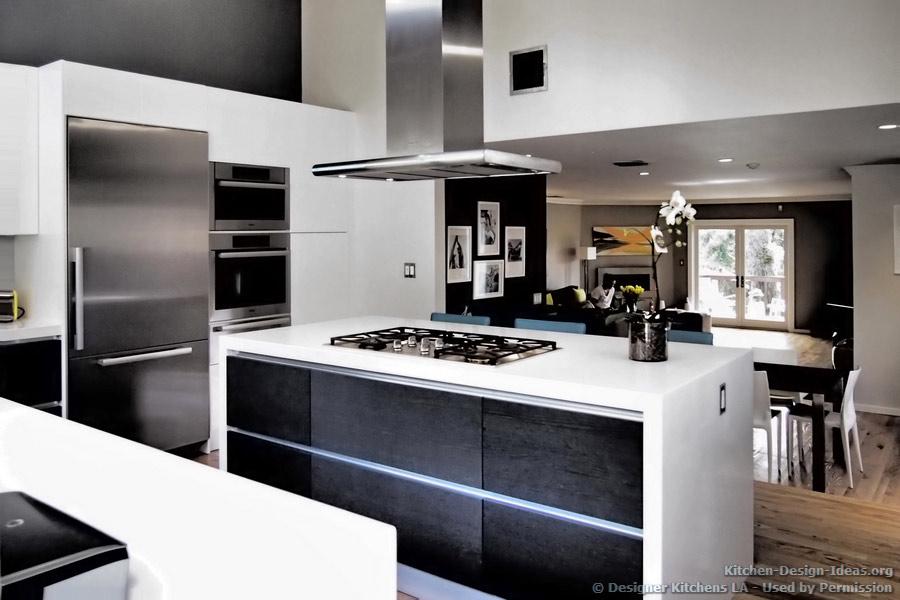L Shape Modern Kitchen Design