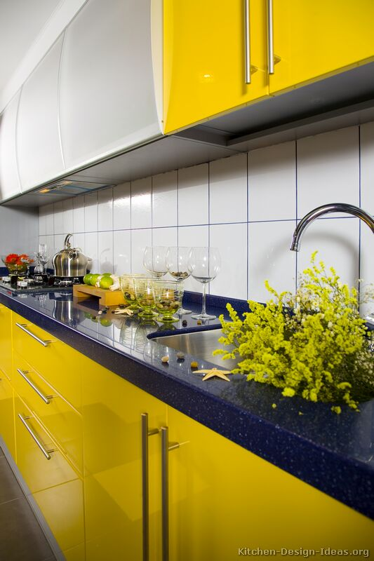 Pictures Of Modern Yellow Kitchens Gallery Amp Design Ideas