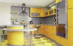 Stunning Pictures of Yellow Kitchen That Will Upcycle Your Old Stuff